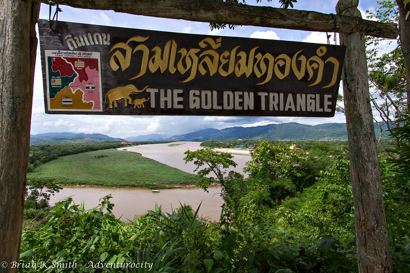 The Golden Triangle at Baan Sop Ruak, Thailand