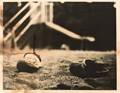 Lost Shoes - Print Scan