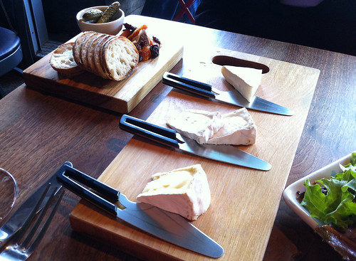 Cheese flight