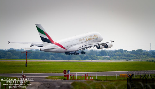 Airbus A380 Lifts Off