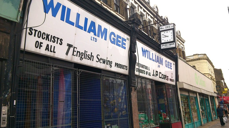09 William Gee, Kingsland Road