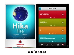 Languages Connecting People. I Love the Hika App! #ipw2012 @vodafonenz