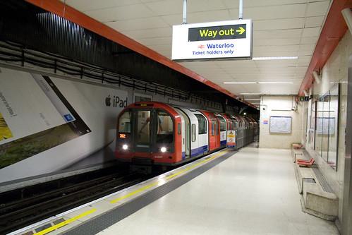 Waterloo & City Line - Waterloo Station