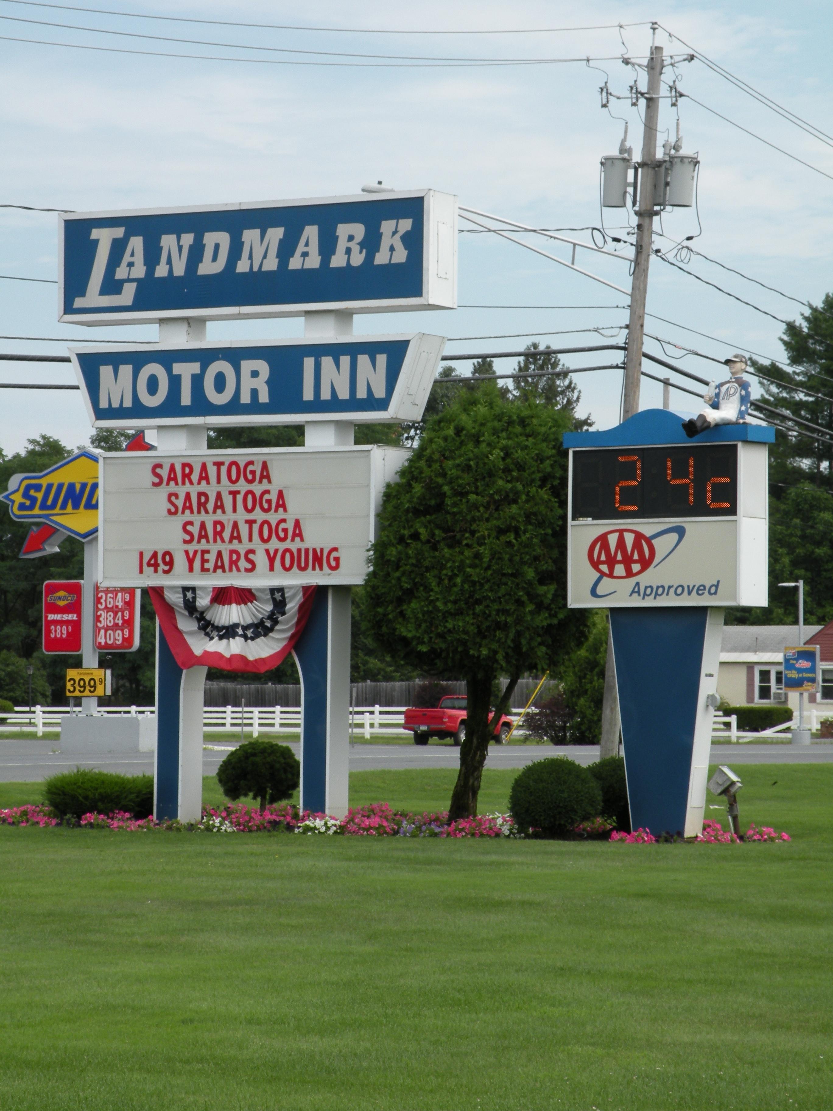 Landmark Motor Inn South Glens Falls Ny Flickr Photo