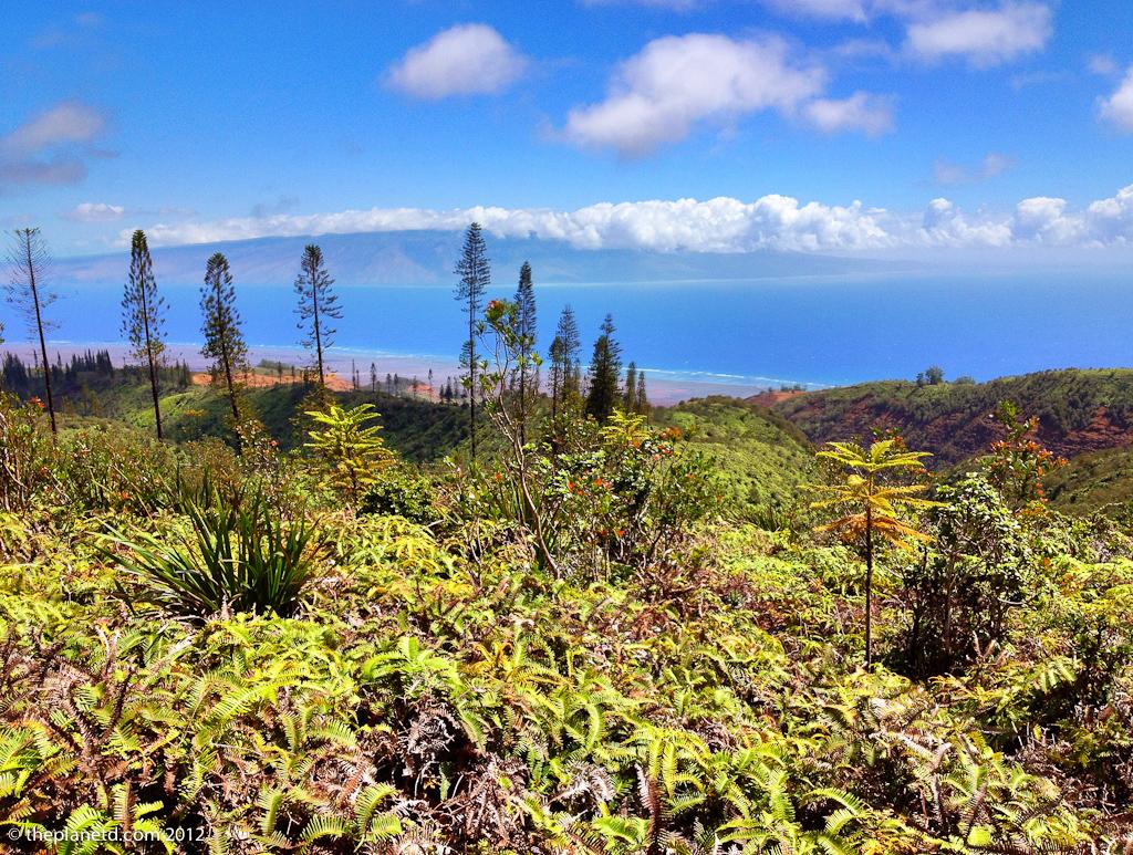 Looking at Maui from Lanai