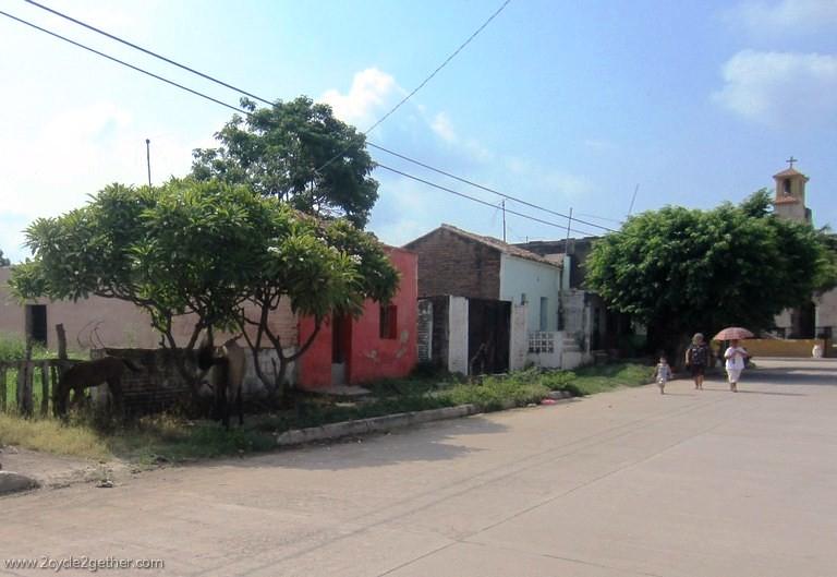 Streets of Aqua Verde, Sinaloa