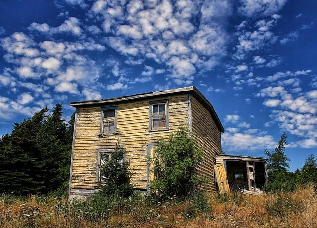 Old newfoundland house flickr photo sharing for Newfoundland houses