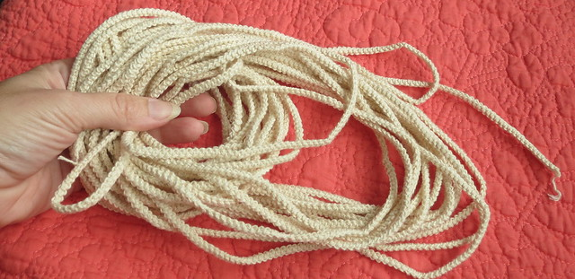 16 yards cord after being measured
