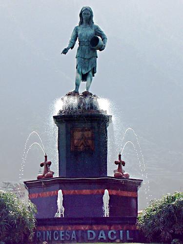 Princesa Dacíl fountain/fuente, La Orotava