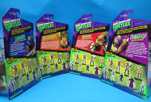 Teenage Mutant Ninja Turtles package back