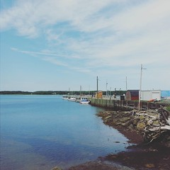 Over the course of a month, my pops and I will have the business of travelling almost every back road in the Atlantic Provinces we can find. Two days ago, we weaved our way through Fox Harbour into a little town called Wallace, nestled just outside of Tat