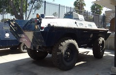LAPD - Cadillac Gage Commando V100 Armored Vehicle (3)