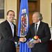 Secretary General Meets with Vice President  of the Congress of Guatemala