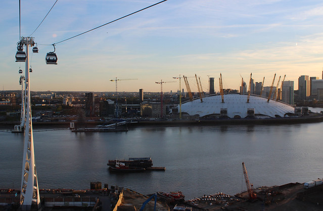 The London Dome from a Cable Car