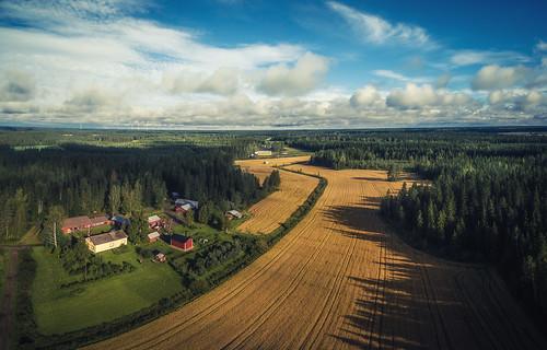 alavieska panorama quadcopter phantom ranch aerial dji northernostrobothnia finland fi