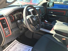 Inside the new truck