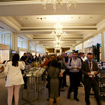Exhibition Area during coffee break