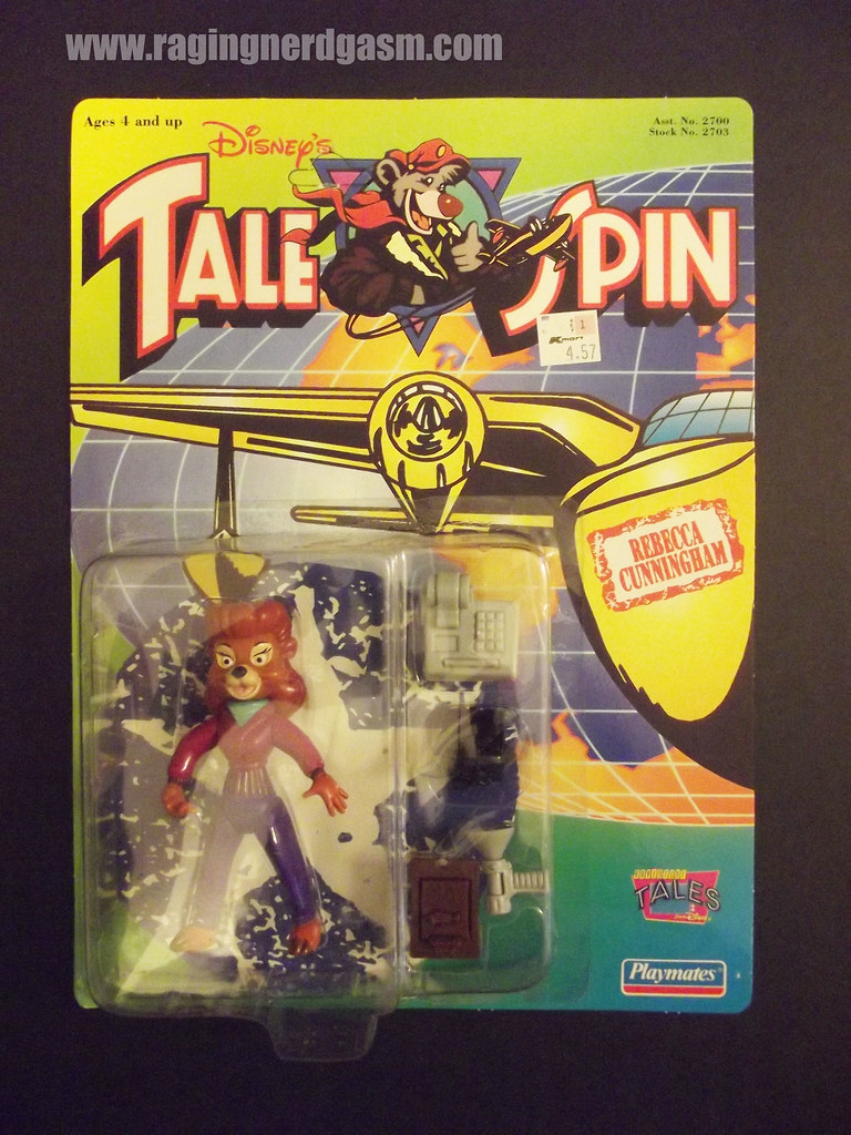 Dysney's Tale Spin Action Figures by Playmates 1991 020