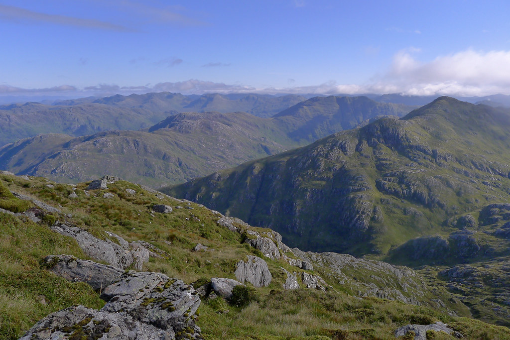 Towards the hills of Kintail
