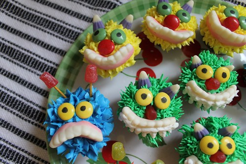 Mini Monster Cupcakes - 3