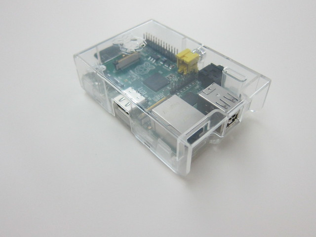 Raspberry Pi - Clear Case