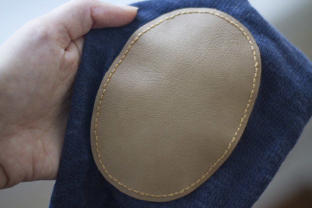 elbow patch template - patching