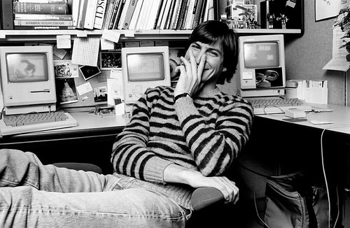 Steve Jobs at Apple 1984