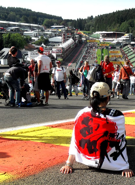 2012 Formula 1 Belgian Grand Prix: Eau Rouge post-race