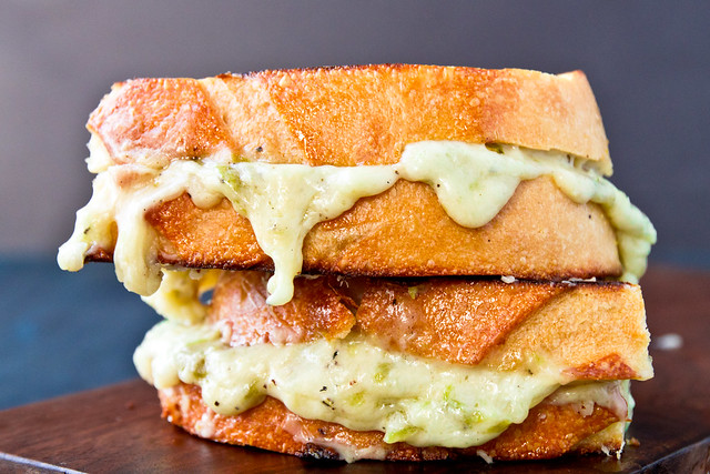Grilled Hatch Pimento Cheese Sandwiches