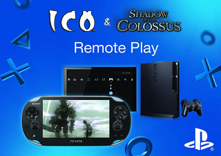 Uso Remoto no PS Vita - ICO and Shadow of the Colossus Collection