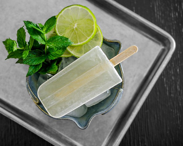 Mojito Popsicle | 30 Healthy Homemade Popsicles | Homemade Recipes