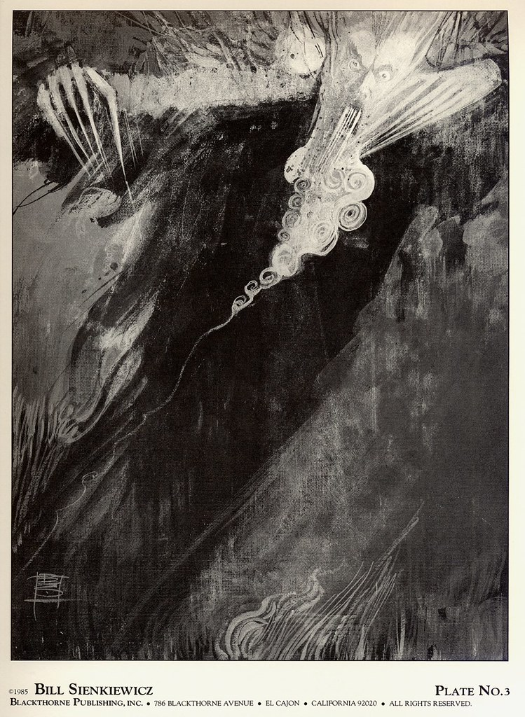 Bill Sienkiewicz - Vampyres (Blackthorne Publishing, Inc 1985) Plate 3