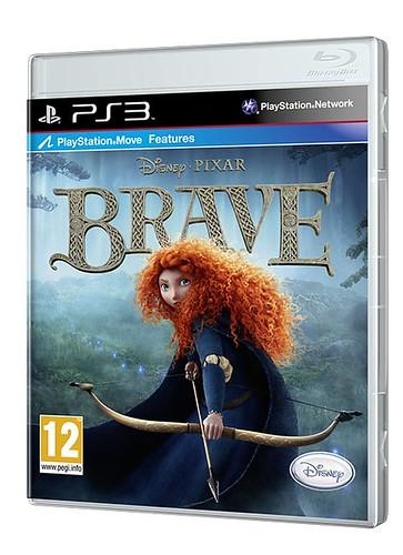 Brave el videojuego_PS3_caratula3D