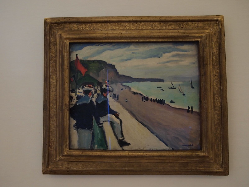 Albert Marquet - La plage de fécamp (1906)