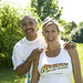 Small photo of Daley Thompson & Kate Staples
