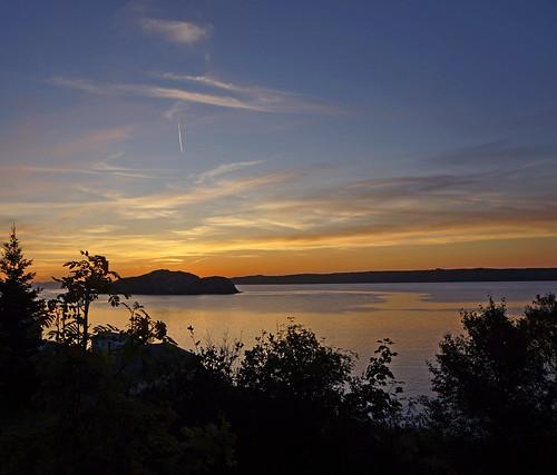 sunrise bayroberts newfoundlandandlabrador shorelineheritagewalkingtrail labourday2012