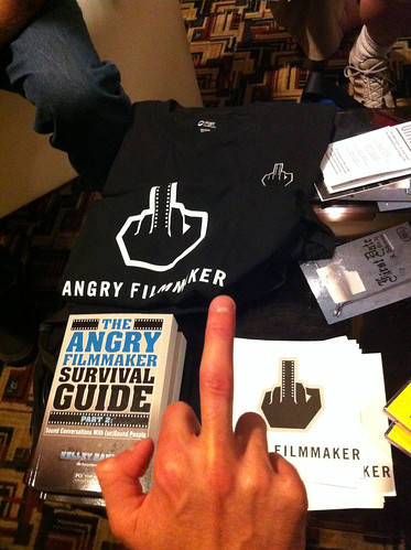 angry filmmaker