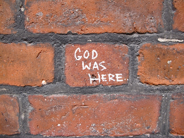 Church graffiti