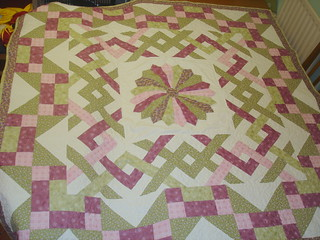 Sew Intertwined - quilted and finished