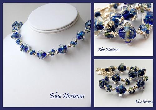 Blue Horizons by gemwaithnia