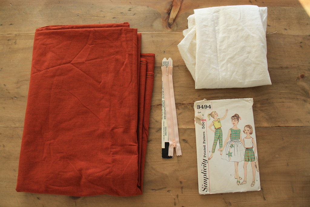 sewing saturday - taper leg trouser pattern