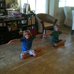 We measured & marked  the 6 - 8 ft wingspan of the Frigate #swfl #homeschool #hsbloggers