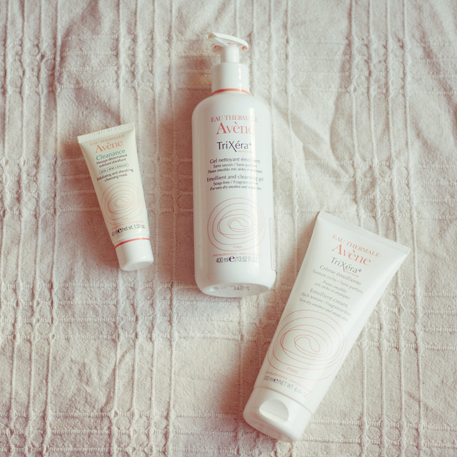 Avene Trixera products review