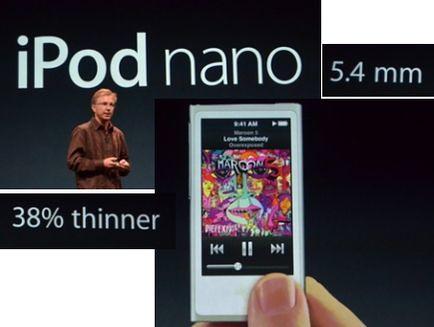 Габариты iPod nano