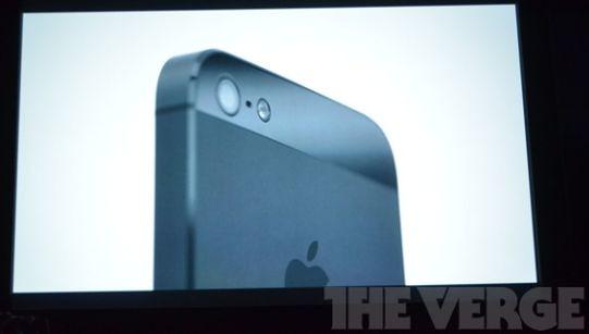 верхняя часть iPhone 5