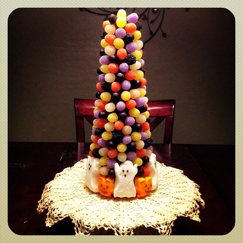 Halloween Gumdrop Tree by Heather Says