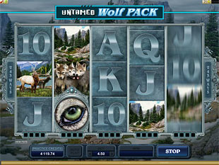 Untamed Wolf Pack slot game online review