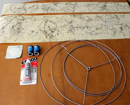 Restoring A Vintage Fiberglass Lampshade Supplies For Re