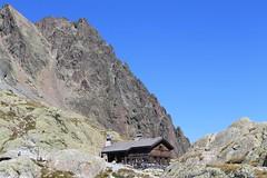 Lac Blanc , Chamonix-Mont-Blanc, Haute-Savoie, France
