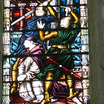 Plantagenet World 2011 Becket's martyrdom, Canterbury Chapter House --